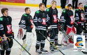 """Vilniaus """"Hockey Punks"""" ledo ritulio klubas pirmajame IIHF Kontinentinės taurės etape rungtyniaus Vilniuje"""